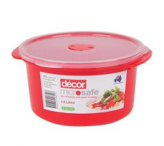 Microsafe® Round Container 1.5L