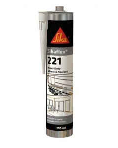 Sika Sikaflex® 221 Industrial Adhesive Sealant White 310ml