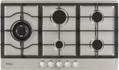 Milano Gas Stainless Steel Cooktop 90cm
