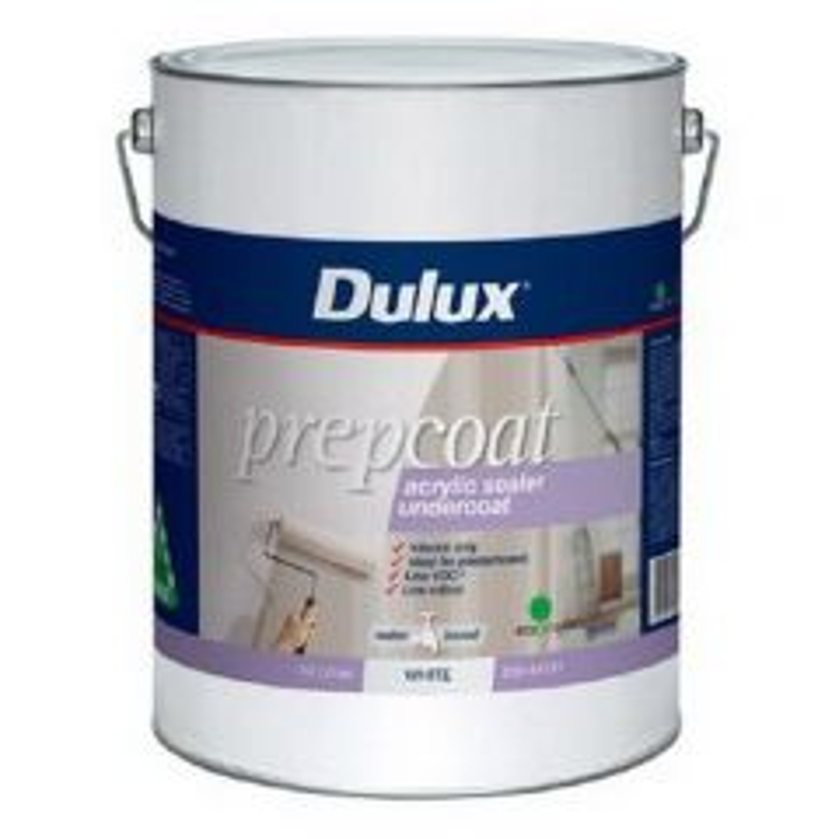 Dulux Prepcoat Acrylic Sealer Undercoat White 10L
