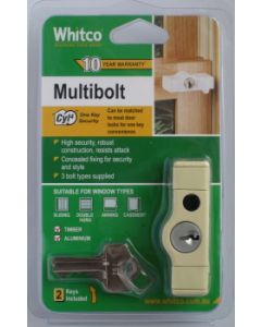 Lock Multi Bolt Primrose Cyl4 Pk1