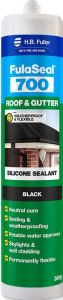 H.B. Fuller Roof and Gutter Silicone Black 300g