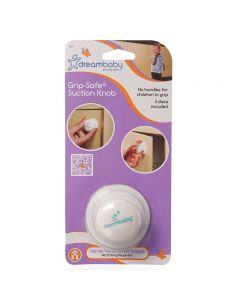 Dreambaby Grip-Safe Suction Knob