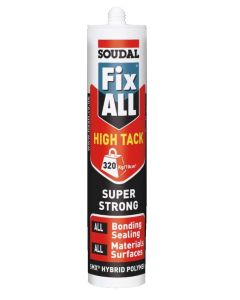 Soudal Fix ALL High Tack Sealant Aluminium 290ml