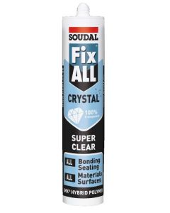 Soudal Fix All Sealant Crystal Clear 290ml