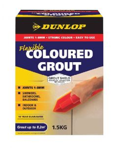 Dunlop 1.5 KG Coloured Grout Slate Alabaster