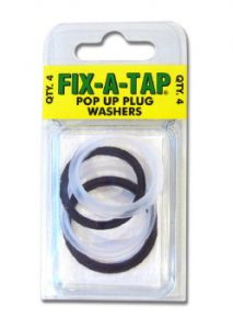 Waste Pop Up Replace Washers
