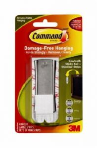Command Picture & Frame Hanging Sawtooth Hook