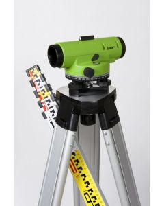 Imex Laser Level Dumpy Includes Tripod and Staff LAR28S
