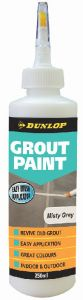 Dunlop 250 ML Grout Paint Misty Grey