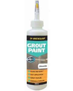 Dunlop 250 ML Grout Paint Ultra White