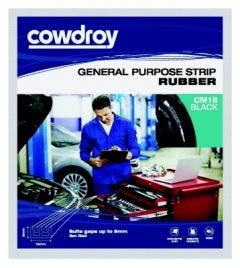 Cowdroy 2m Rubber Strip