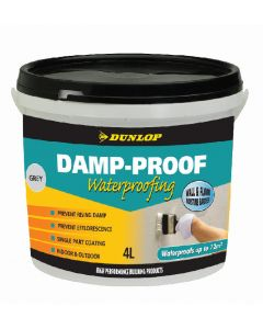 Dunlop 4 Litre Damp Proof Waterproofing