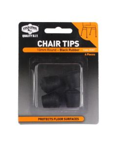 Round Rubber Chair Tips