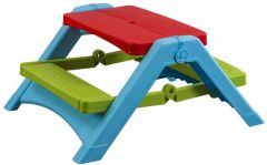 Kids Folding Plastic Picnic Table