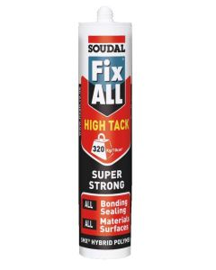 Soudal Fix All High Tack Sealant Invisible 290ml