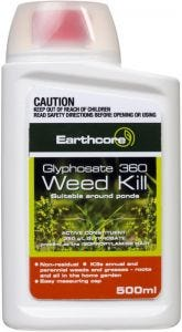 Earthcore Glyphosate Weed Killer Concentrate 500ml