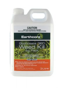 Earthcore Glyphosate Weed Killer Concentrate 3L