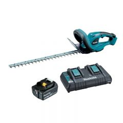 Makita 18V 5.0Ah Hedge Trimmer Kit
