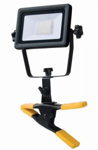 Mirabella 20W LED Worklight with Clamp
