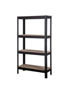 Storage Geelong 4 Tier Shelving Unit 1500 x 825