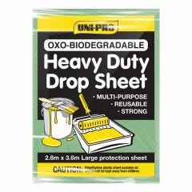 Uni-Pro Biodegradable Heavy Duty Drop Sheet
