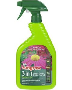 Amgrow 750ml Three in One Insecticide