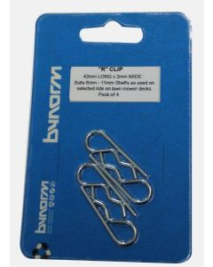 Bynorm 42mm x 2mm R Clip 4 Pack