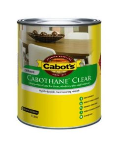 Cabots Cabothane Low Sheen 1L