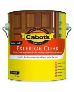 Cabots Ext Clear Satin 2L