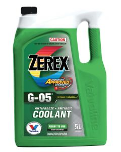 Valvoline 5L Coolant Zerex G-05 Ready to Use