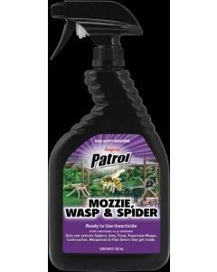 Insecticide Moz/wasp/spid 750ml Patrol