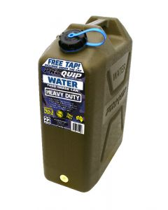 Pro Quip 22 Litre Heavy Duty Water Can - Olive Green