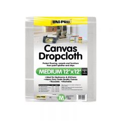 Uni-Pro Canvas Drop Cloth Medium 3.6 x 3.6m