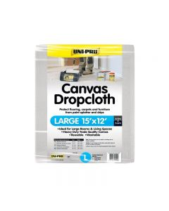 Uni-Pro Canvas Drop Cloth Large 4.5 x 3.6m