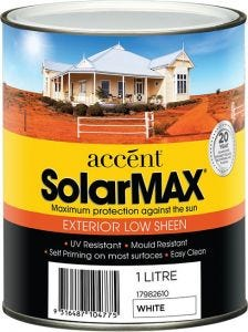 Accent® Solarmax Low Sheen White 1L
