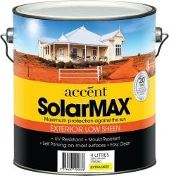 Accent® Solarmax Low Sheen Extra Deep 4L