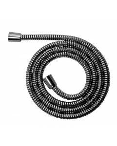 Interbath Raindrop Flexible Hose PVC Chrome