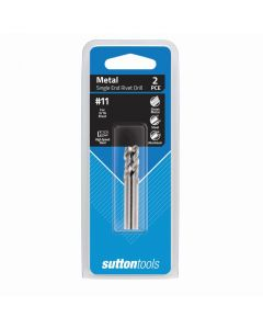 Sutton Tools 2 Pack 4.85mm Shortie Metal Drill Bit