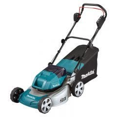 "Makita 36V (18V x 2) Brushless Lawn Mower 460mm (18"") Skin"