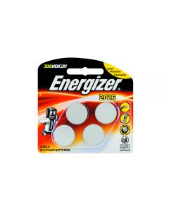 Energizer Battery Li 3V C2025 4 Pack