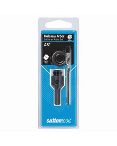 Sutton Tools 2 Piece Arbor Set with Adaptor Suits
