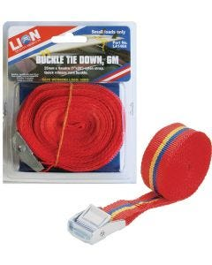 Lion 25mmx6m Quick Release Tie Down
