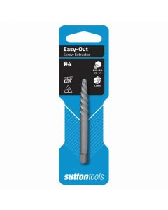 Sutton Tools 10.0mm - 12.0mm Screw Extractor No.4