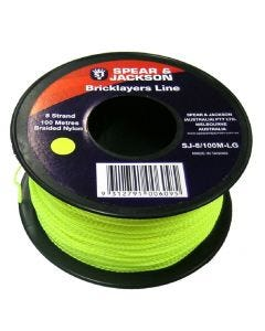 Spear & Jackson Fluoro Bricklayers Line Green 100m