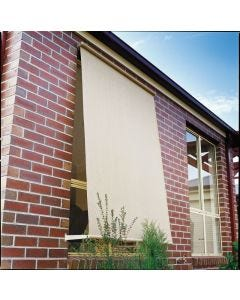 Coolaroo 1.5M x 2.1M Shell Retractable Blinds