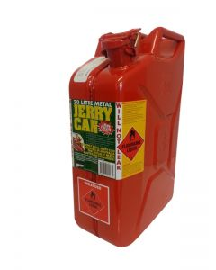 Pro Quip 20L Red Metal Jerry Can