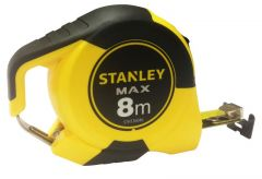 Stanley Max 8M Bulldog Tape Measure