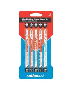 Sutton Tools 5Pce Jigsaw Blade Set