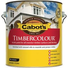 Cabot's Timbercolour 4L White